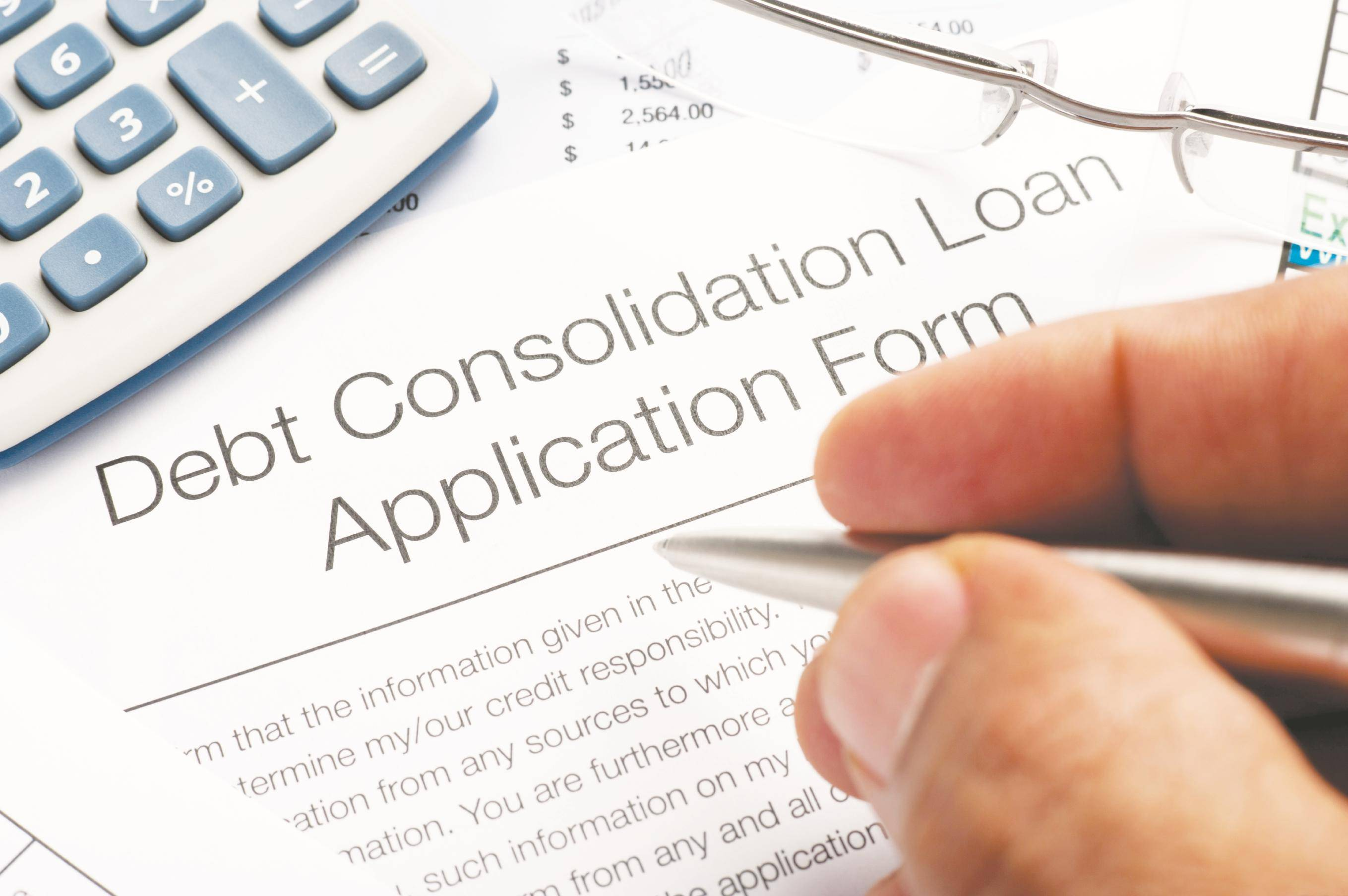 Image result for Taking out a consolidation loan can ease your debt burden